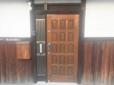 泉南市K様邸 木製扉