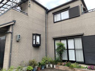 泉大津市Y様邸 屋根・外壁塗装工事 着工しました!!