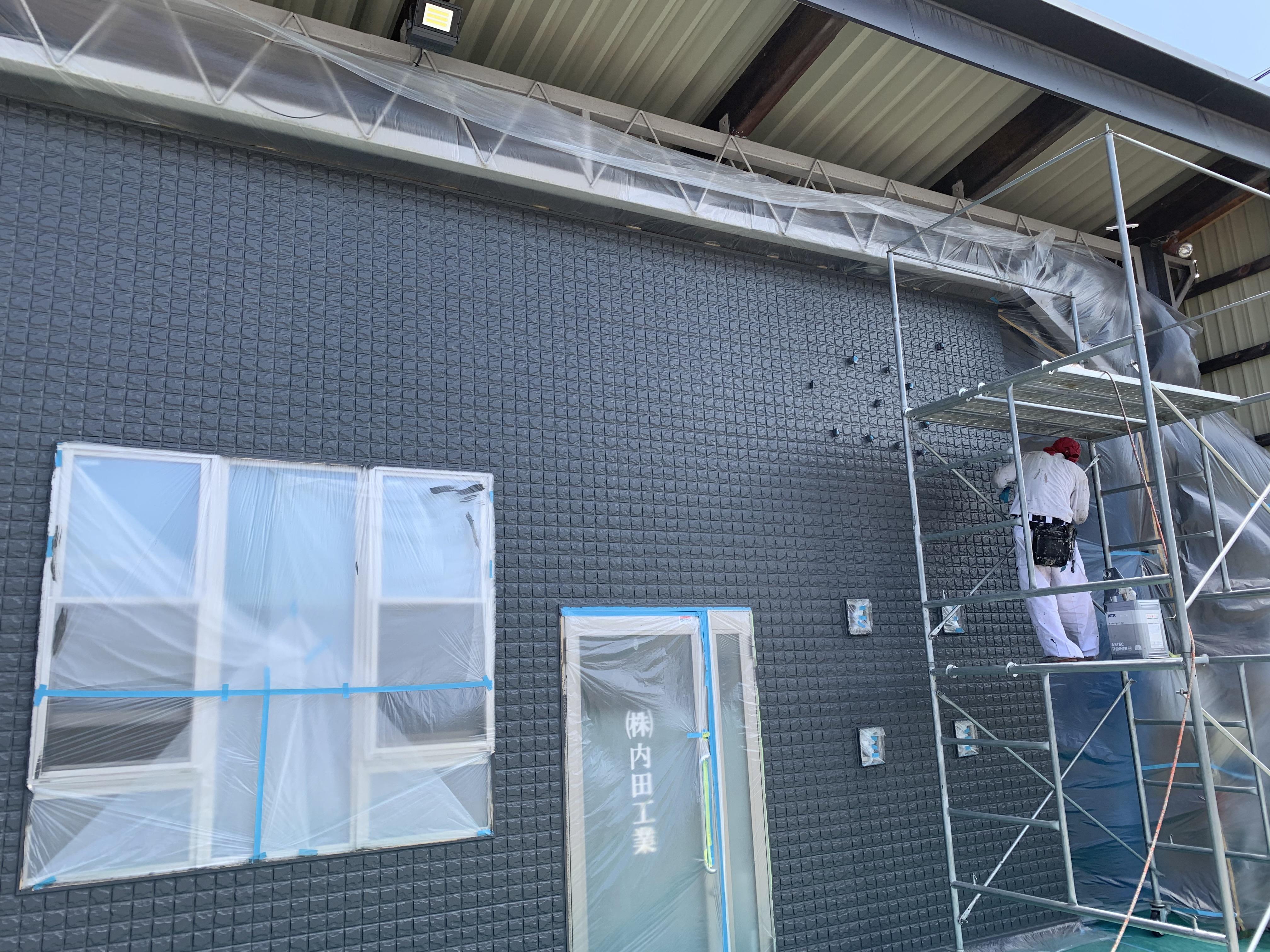 岸和田市 事務所塗装工事
