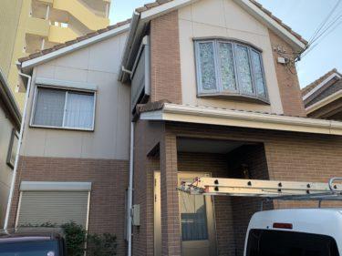 貝塚市K様邸 屋根・外壁塗装工事着工しました!!