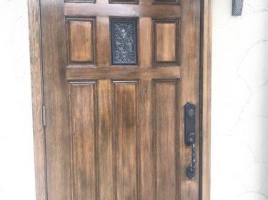 和泉市K様邸 木製扉
