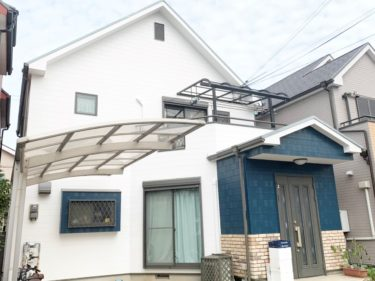 泉大津市D様邸 屋根・外壁塗装