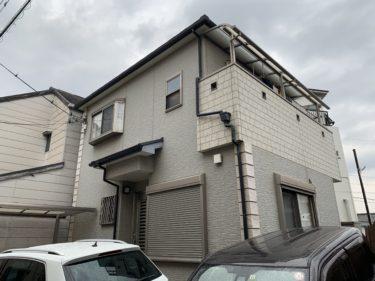 泉大津市U様邸 屋根・外壁塗装工事着工しました!!